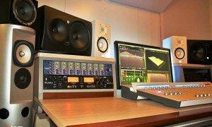 Control room opnamestudio