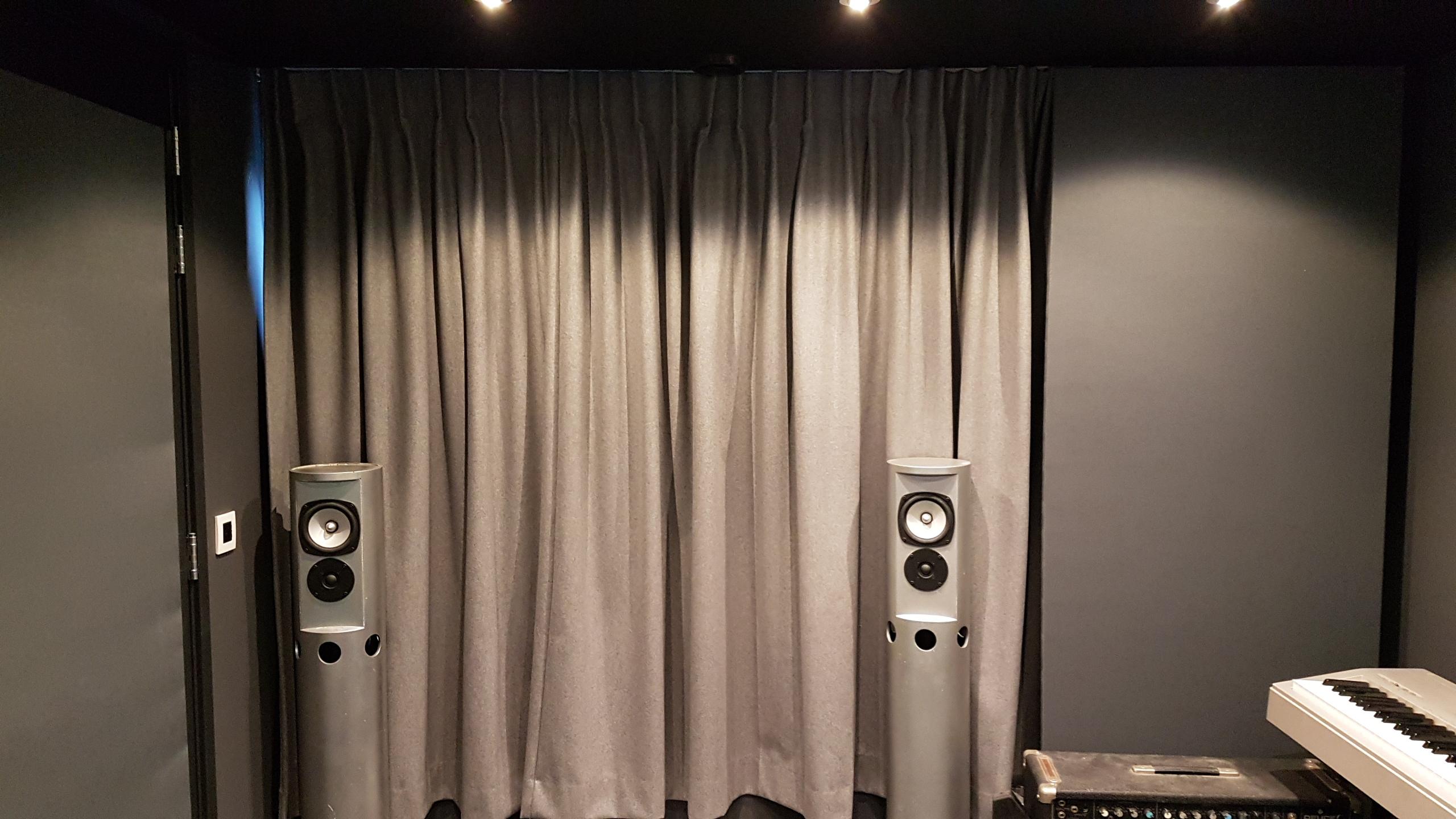 Achterkant studio