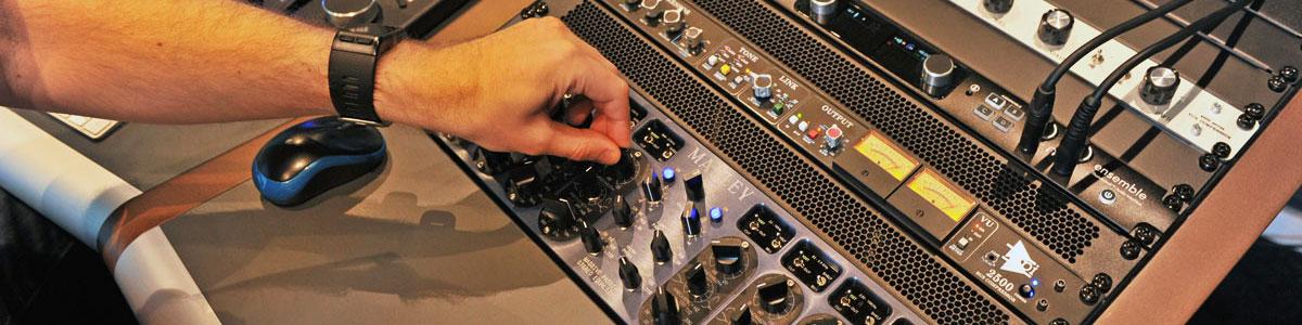 Opnamestudio Mosound desk